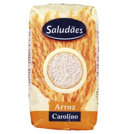 Saludães Arroz Carolino - 1kg
