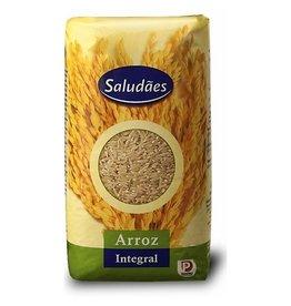 Saludães Arroz Integral - 1kg