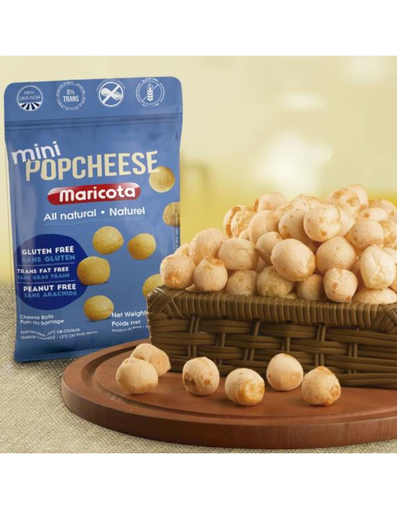 Maricota Mini Pop Cheese rolls - frozen- 400g