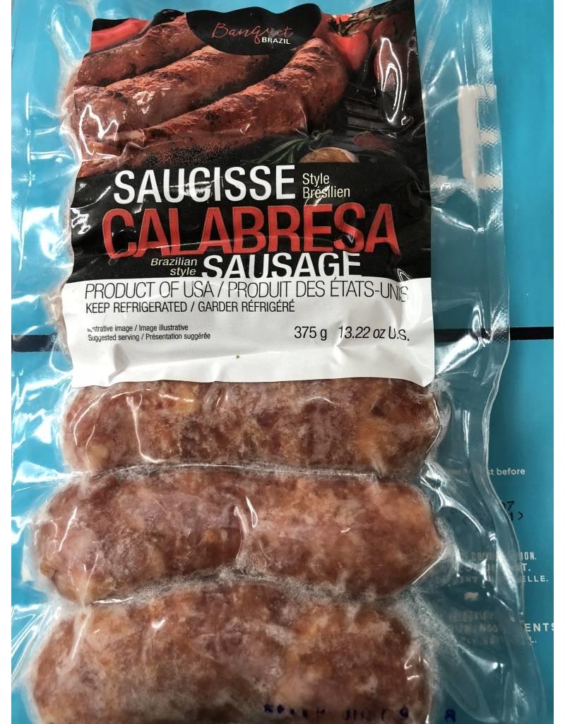Banquet Brazil Calabresa Sausage - frozen - 375g
