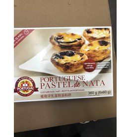 Taste of Portugal Custard Eggs Tart - frozen - 6 units - 360g
