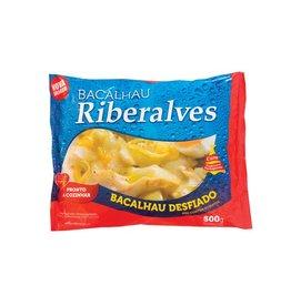 Riberalves Pre-soaked frozen Cod shredded -400g