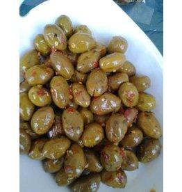 Soares et Fils Schiacciate Etna Spice Olives - 250g