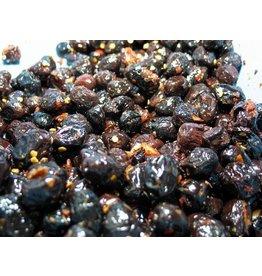 Soares et Fils Spiced Black Olives - 250g