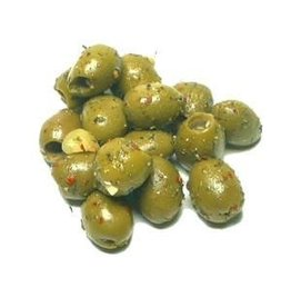 Soares et Fils Cocktail spiced pitted olives - 250g