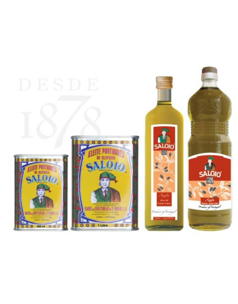 Saloio Olive Oil Extra-Virgin - 1 lt