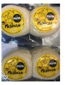 Queijo Paiva Cured Mixed Cheese  R1 - cow - sheep - goat -  6 x 50g