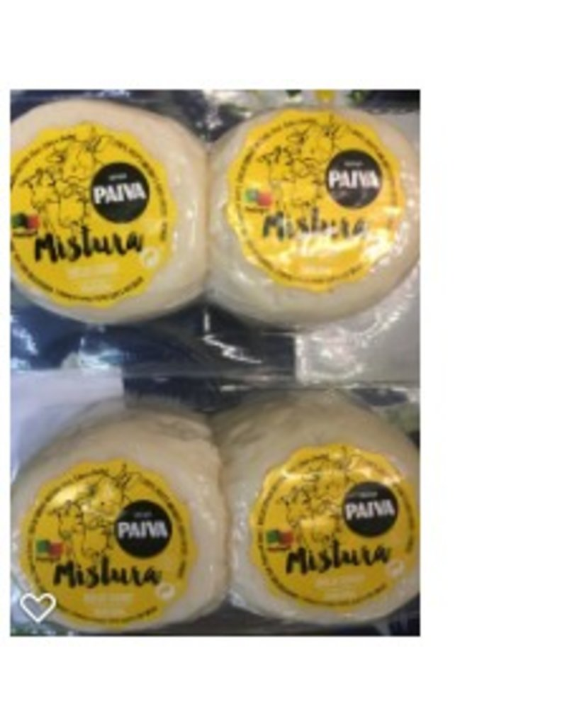 Queijo Paiva Queijo Paiva Cured Mixed Cheese - cow - sheep - goat -  6 x 50g