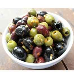 Soares et Fils Portuguese Olives - seasoned - 200g