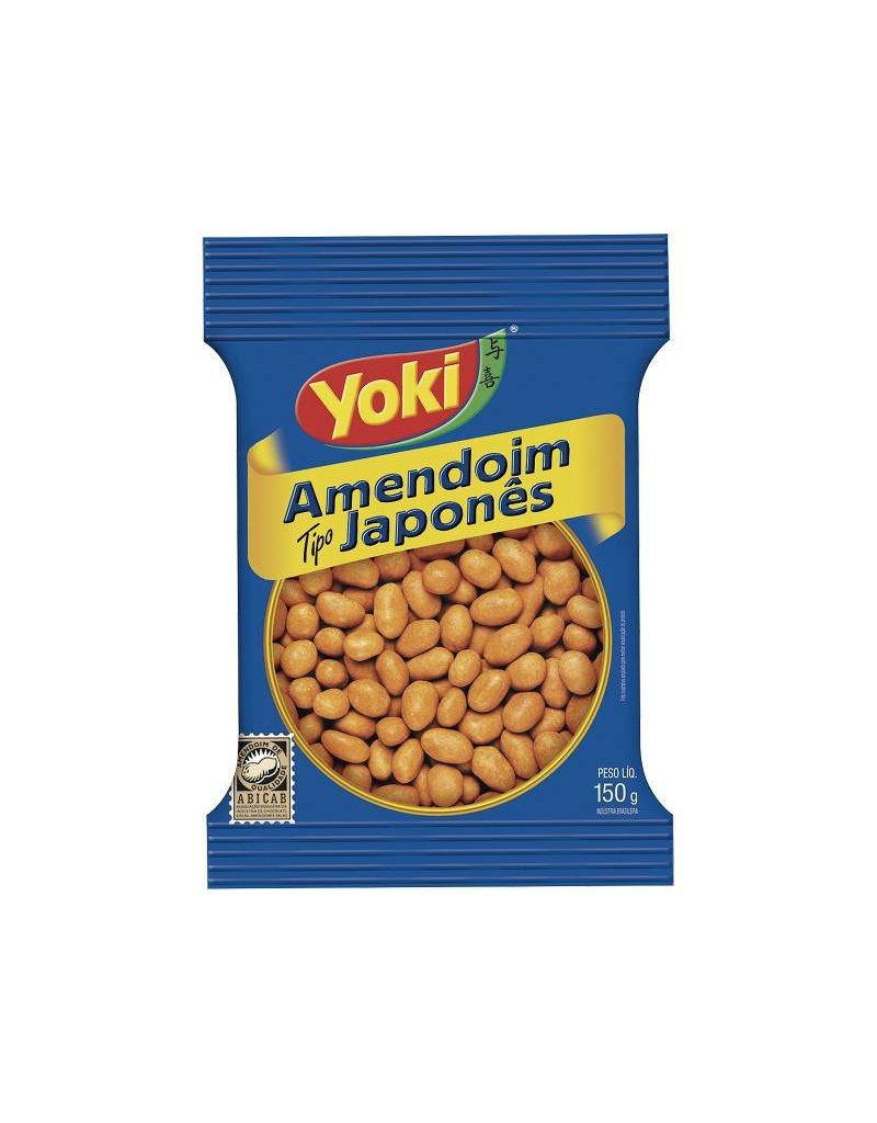 Yoki Peanuts - Salted & Crunch- 150g