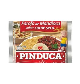 Pinduca Cassava flour flavoured with jerk meat - 250g