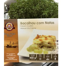 Taste of Portugal Cod with Cream- Bacalhau com Natas - frozen - 450g