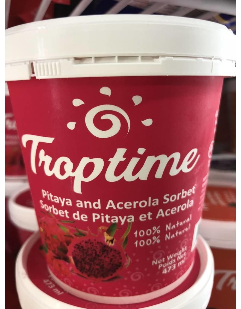 Troptime Pitaya and Acerola Sorbet - 473ml