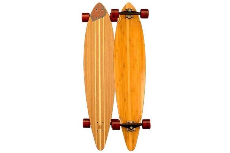 BAMBOO SK8 PINTAIL BLANK COMPLETE