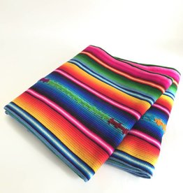 Altiplano Handwoven Rainbow Blanket