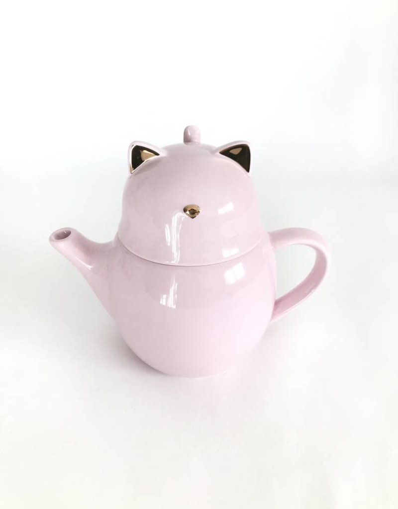 Purrrcy Cat Tea For One