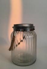 WORLD BUYERS Starlight Solar Lantern Glass