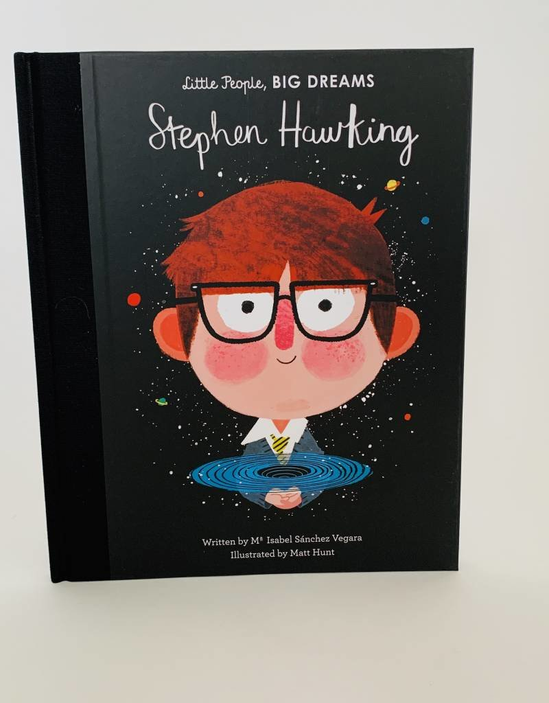 QUARTO Little People  Big Dreams Stephen Hawking