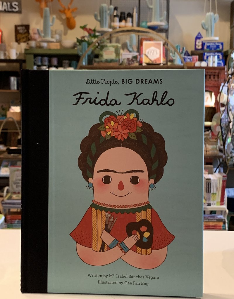 QUARTO FRIDA KAHLO LITTLE PEOPLE BIG DREAMS