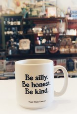 QUOTABLE CARDS Be Silly Be Honest Be Kind Mini Mug