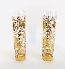 ROOST Passion Vine Champagne Glass Gold