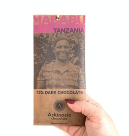 ASKINOSIE 72% Mababu, Tanzania Dark Chocolate Bar