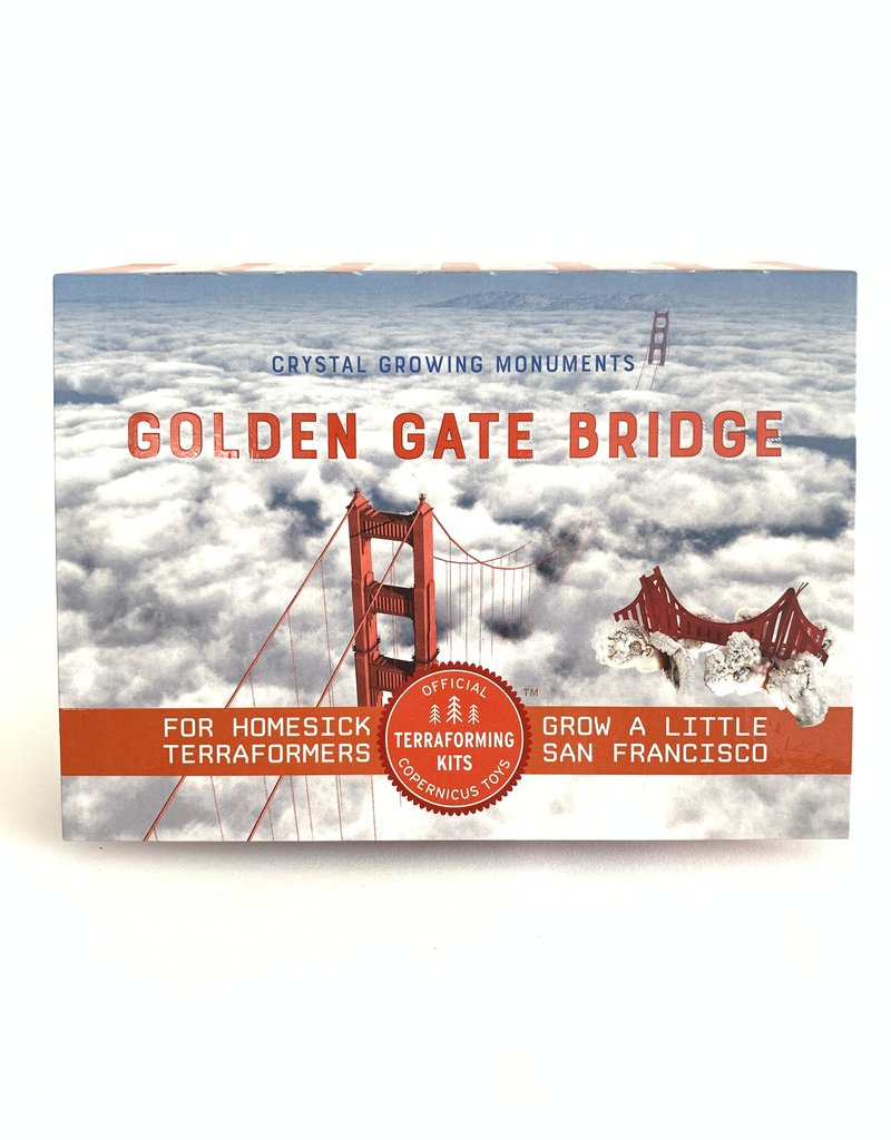Copernicus Crystal Growing Golden Gate