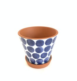 SHIRALEAH Porto Flower Pot