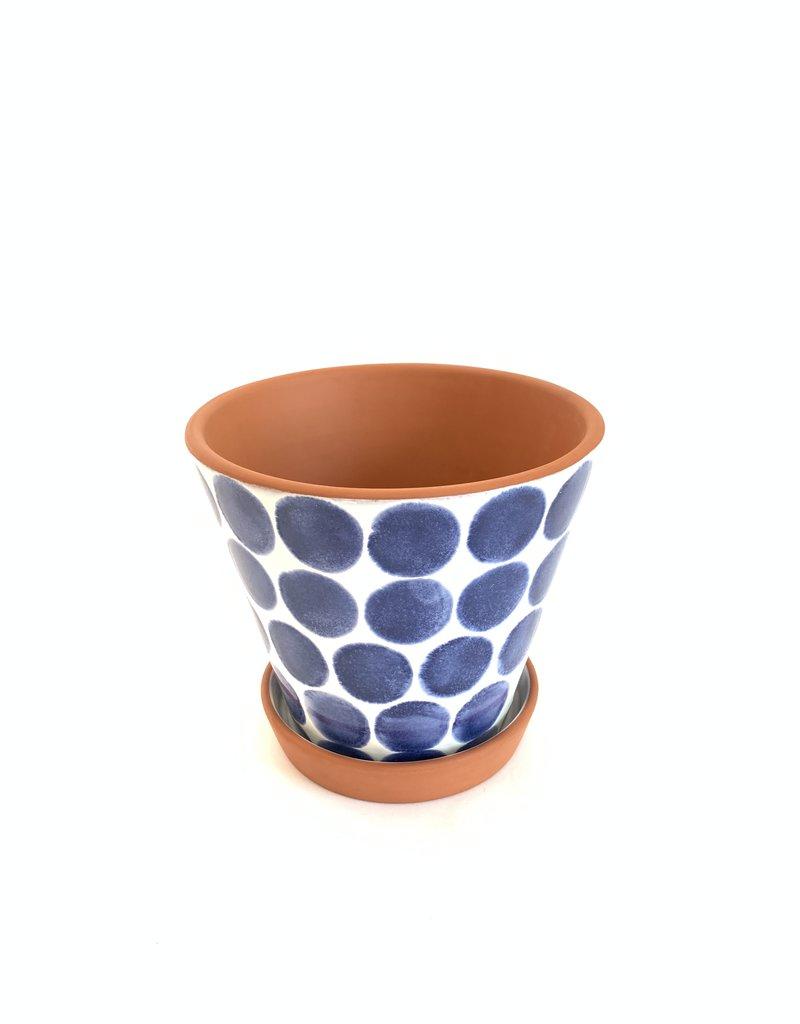 SHIRALEAH Porto Flower Pot