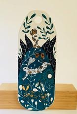 Cheese Board Ceramic Birdland