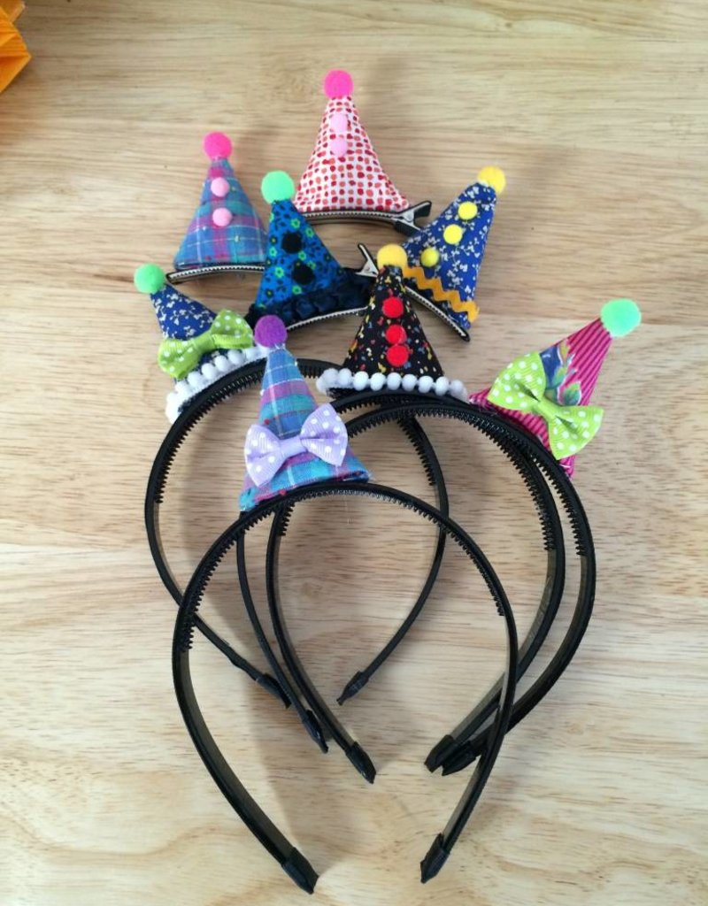 Headband Tiny Party Hat