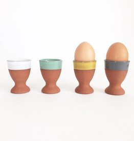 Terracotta Egg Cups, Set of 4