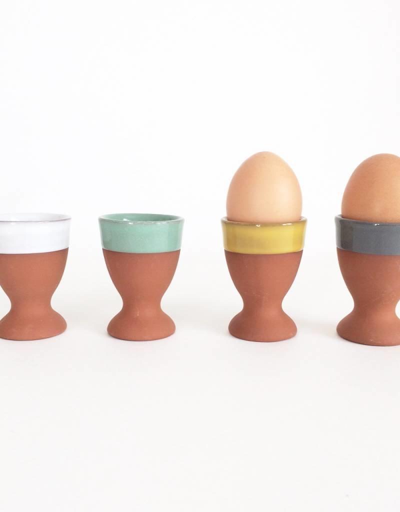 Egg Cup Terracotta Set/4 Sky