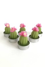 180 Degrees Flowering Cactus Tealight