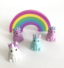 Unique Unicorns Scented Erasers Set of 5