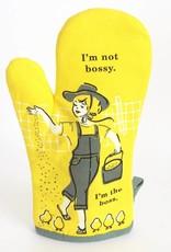I'm Not Bossy I'm the Boss Oven Mitt