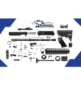 Anderson MFG Anderson MFG (AR15) Optic Ready Complete Gun Kit w/ Magazine (Unassembled)