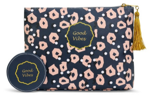 Demdaco DS Good Vibes Zip Pouch
