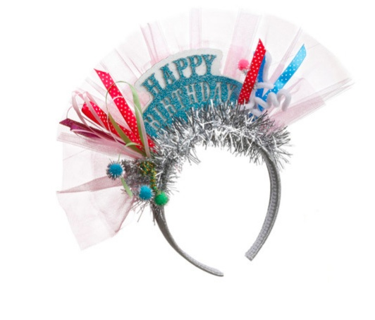 Demdaco Happy Birthday Headband