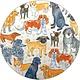 Rockflowerpaper Coaster Set - Dogville