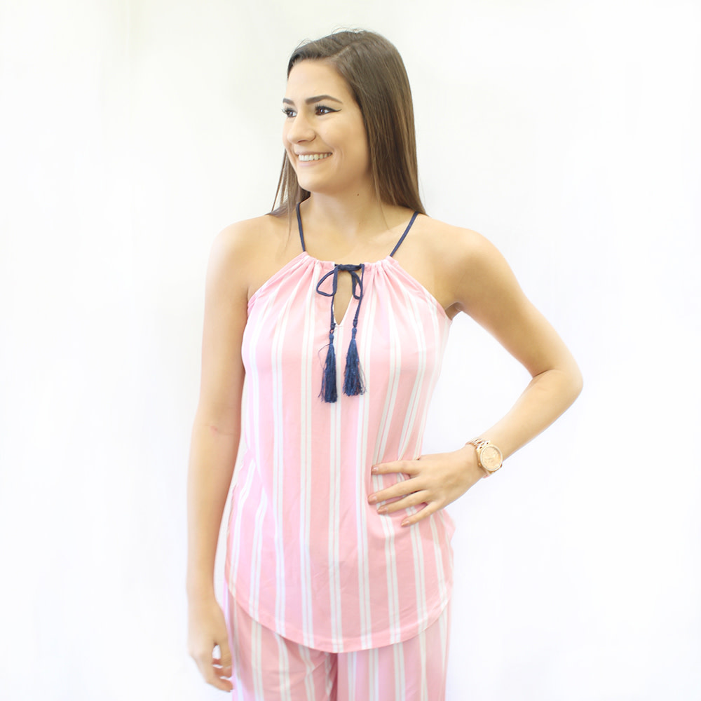 The Royal Standard EMB Pretty in Pink Cami