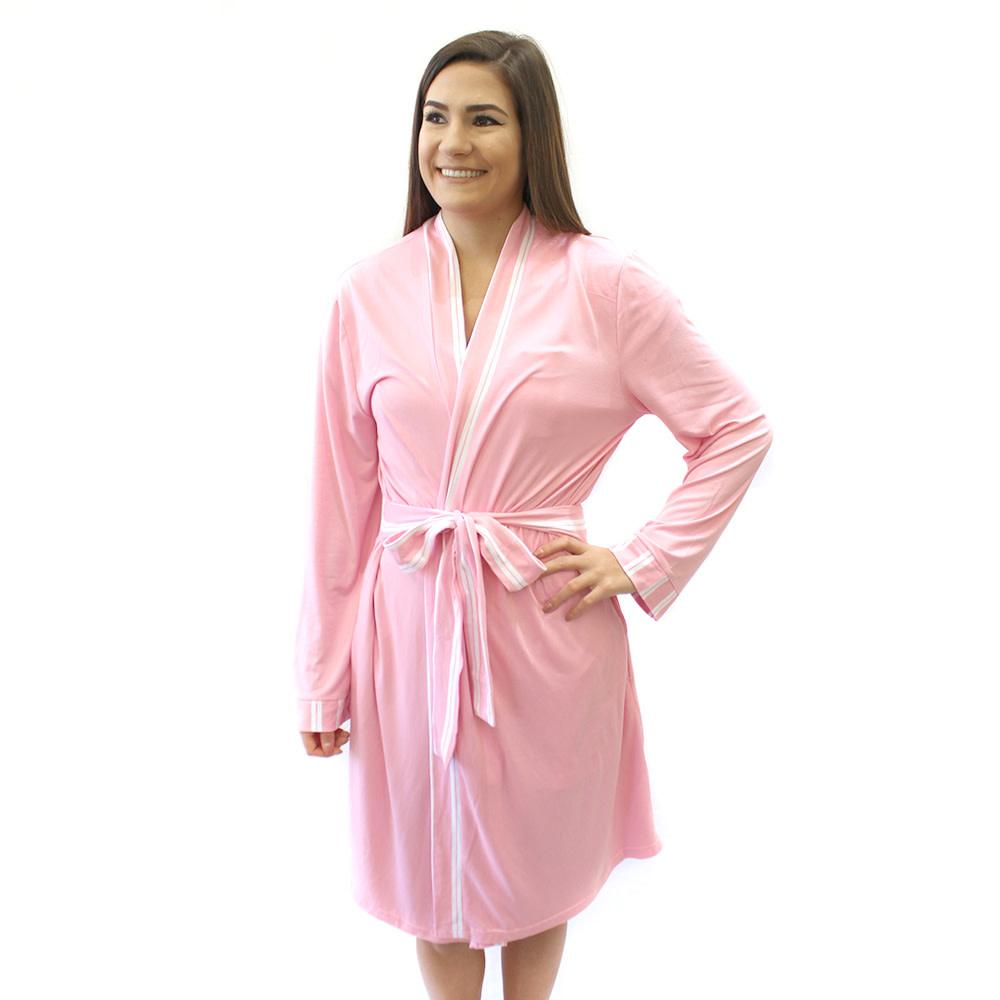 The Royal Standard EMB Pretty in Pink Robe L/XL 48460
