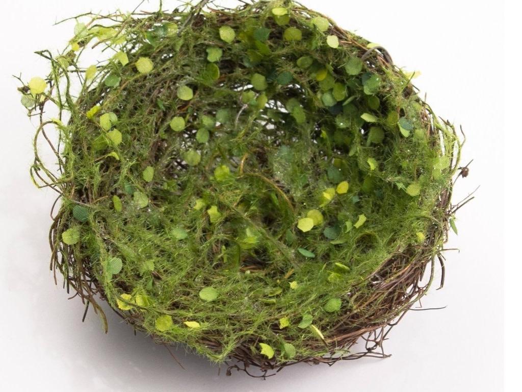 The Royal Standard Bird Nest Green 5x5x1.5 43562