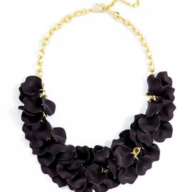 Zenzii Painted Petals Necklace