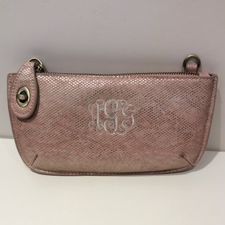 Joy Accessories Vegan Leather Crossbody Wristlet