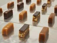 The grommet Sweet Jules Caramels - 1/2 lb - Dk Choco Pecan