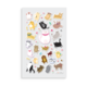 Ooly Itsy Bitsy Stickers - Puffy Pets - 1sheet