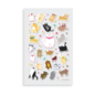 Itsy Bitsy Stickers - Puffy Pets - 1sheet