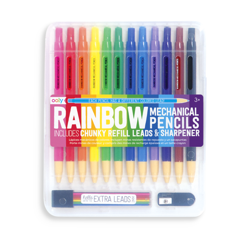 Ooly Rainbow Mechanical Colored Pencils - 14 pc Set