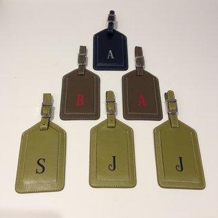 Intercontinental Leathern Industries ILI Leather Luggage Tags incV